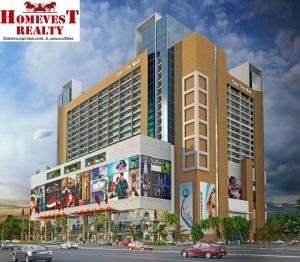 GAUR CITY MALL ELEVATION